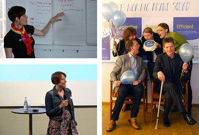 Leder en nationellt workshop om museer online i Visby 2008 Presenterar IdeK-labbet på ett inspirationsseminarium om digital kommunikation på Nordiska museet i Stockholm 2011 Firar varumärkesarbetet på Congrex, Stockholm 2010